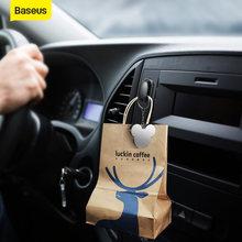 Baseus 4 шт автомобильные крючки органайзер для хранения usb