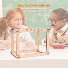 Деревянные игрушки вечный баланс Ньютон физика научный маятник орнамент качели Глобус фотомодель