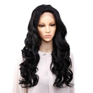 Image 2 - Amir perruque synthétique Afro bouclée et crépue pour femmes avec peignes à lintérieur, coiffure pre plucked, nœuds blanchis, pour cosplay