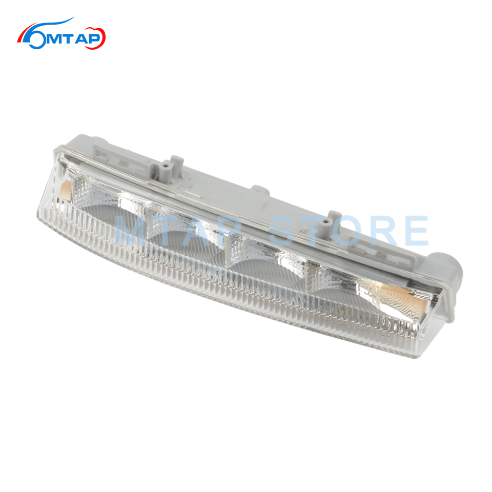 Front Bumper Day Time Running Lamp For Mercedes-<font><b>Benz</b></font> W204 S204 C350 W212 <font><b>R172</b></font> For C/E/<font><b>SLK</b></font> Class DRL Fog Lamp Light image