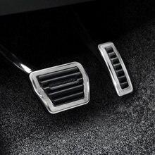 Pedal do acelerador do freio do carro pedal acelerador pé resto pedal para range rover vogue 2013-2020 sv atualização range rover sport 2014-2020