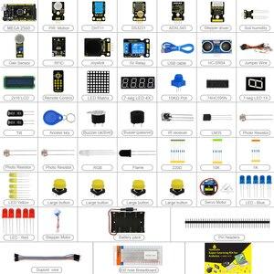 Image 2 - نسخة محدثة Keyestudio سوبر كاتب عدة مع لوحة Mega2560R3 (USB المسلسل رقاقة هو CP2102) لاردوينو كاتب عدة + البرنامج التعليمي