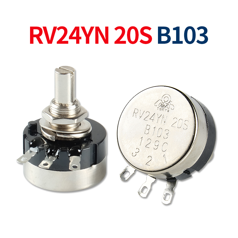 Inverter Arc Electric Welding Machine Potentiometer And Knob RV24YN-B103 2W 10K Ohm Welding Machine Parts 3PIN Mig Accessories