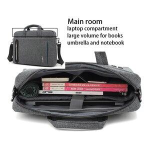 Image 4 - 15 inch laptop bag 15.6  Waterproof Nylon 15.4  laptop shoulder bag man business bag Messenger bag for macbook PRO