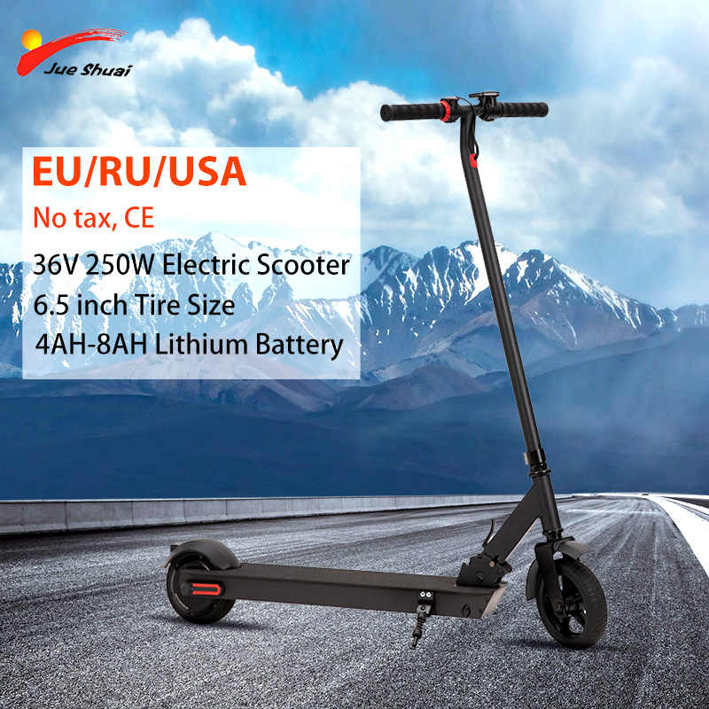 "36V Scooter Electric 7.5KG Light 6.5"" Motor Wheel with Battery Adult Foldable Scooter patinete electrico adulto Scooter Electric"