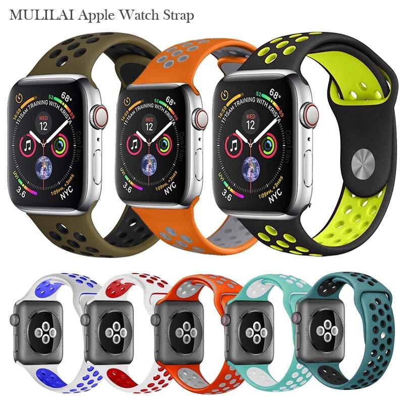 Silikonband für apple armband 42mm 38mm ersetzen armband iwatch - Uhrenzubehör - Foto 5