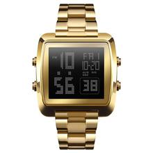 New Luxury Gold Digital Watches Men 50m Waterproof Military