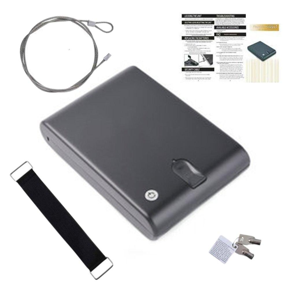 Cold Rolled Steel Material Fingerprint Pistol Safe Gunsafe Gunbox Os120B Fingerprint Gun Safe Gun Safe Fingerprint Safe