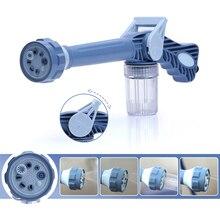 Macchina per schiuma per auto 8 in1 irrigatore multifunzionale tubo da giardino ugello in schiuma pompa dellacqua pistola ugello pulizia idropulitrice