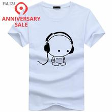 Men T-Shirts Top Quality T-Shirts Fashion DJ Carton Boy Character Prin