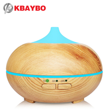 KBAYBO USB Aroma Humidifier ESSential Oil Diffuser Ultrasonic Cool Mist Humidifier Air Purifier 7 Color Change LED Night light