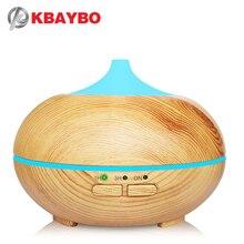 Kbaybo usb 아로마 가습기 에센셜 오일 디퓨저 초음파 쿨 안개 가습기 공기 청정기 7 색 변경 led 야간 조명