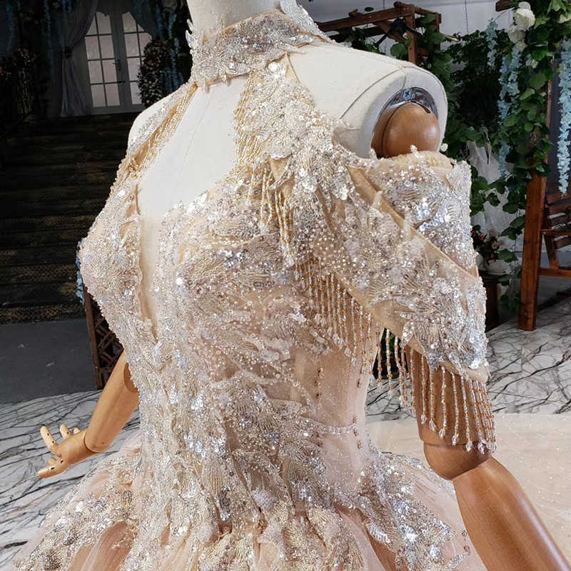 Alilove 2019 כדור שמלה/Off כתף/פשוט/חדש/סגנון/גודל גדול/ללא משענת/כלה /סקסי חתונה שמלה עם שרוולים/תחרה/נשים/יוקרה
