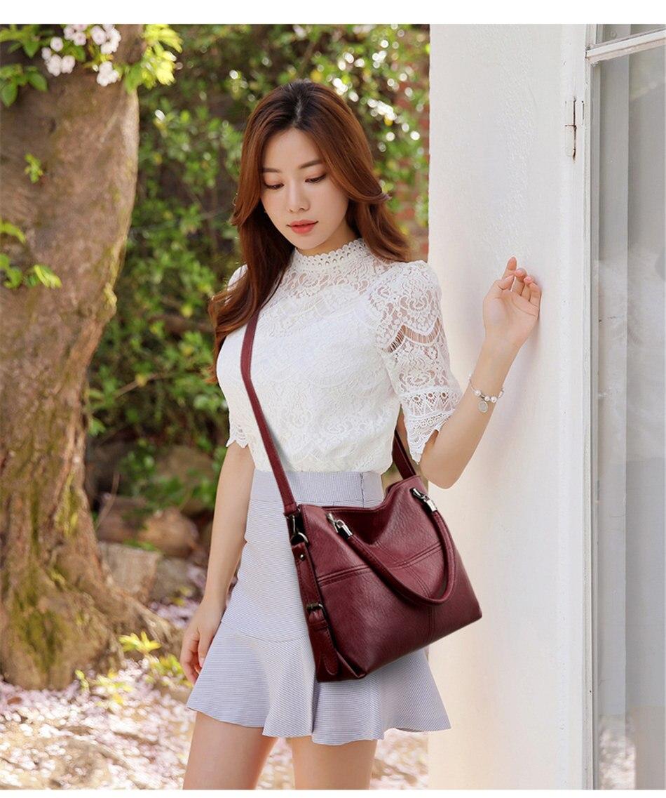 mão de couro bolsas de luxo mulheres