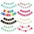 Баннеры для дня рождения, бумажные баннеры для баннеров, баннеры для украшения дня рождения, вечерние принадлежности для маленьких мальчик...