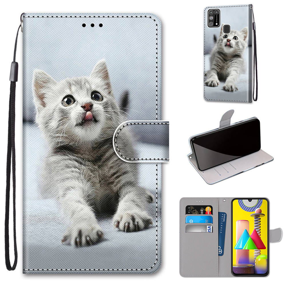 Kids Leather Wallet For Iphone 12 11 Pro Max 2019 Se 2020 Flip Phone Case For Iphone Xs X Xr 6 6s 7 8 Cat Dog Stand Cover Dp08f Wallet Cases Aliexpress