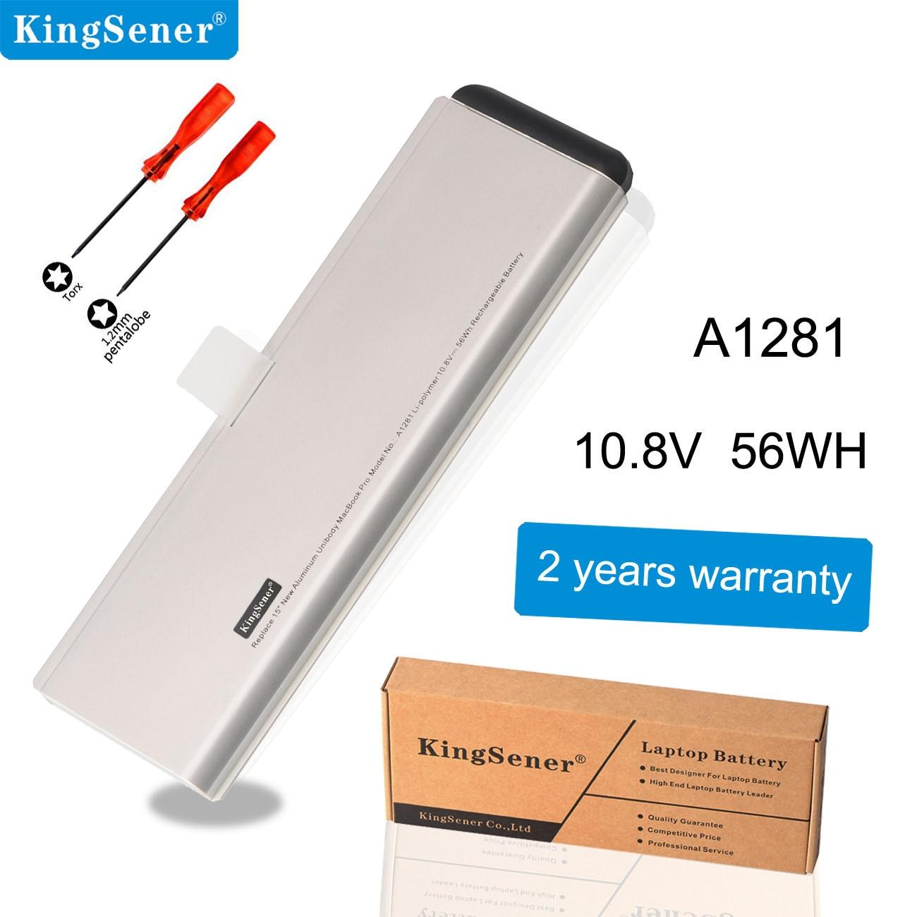 KingSener A1281 A1286 New Battery For Apple MacBook Pro 15'' (2008 Version) MB470LL/A MB471LL/A MB772 MB772LL/A 10.8V 56WH