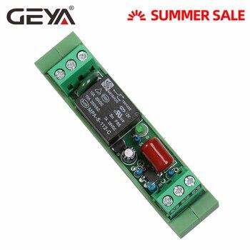Módulo de relé de 1 vía GEYA, Envío Gratis, módulos de relé de estado sólido de interfaz PNP de 12V 24V 230V