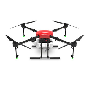 Image 4 - EFT E410S Agricultural spraying drone 1393mm wheelbase fold frame E410 brushless water pump long rod sprayer with power system