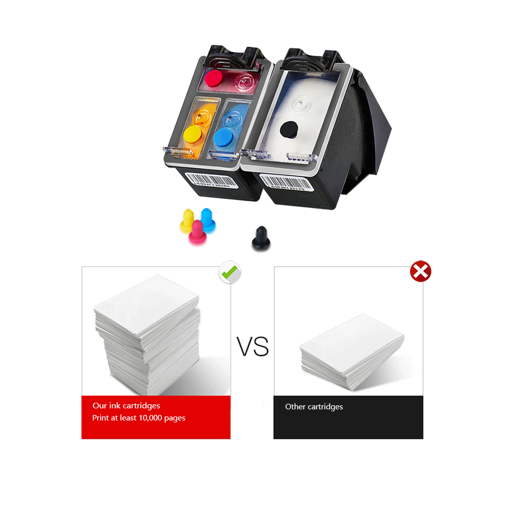 DMYON PG210XL Black Refillable Ink Cartridge Replacement for Canon PG210 Pixma IP2700 IP2702 MP240 MP250 MP270 MP280 MP480 in Ink Cartridges from Computer Office