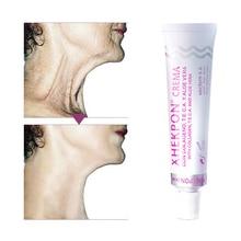 XHEKPON Face And Neck Cream Moisturizing Brightening Shrink Pore Lift Firming Wrinkle Smooth Anti Aging Whitening Cream 40ml