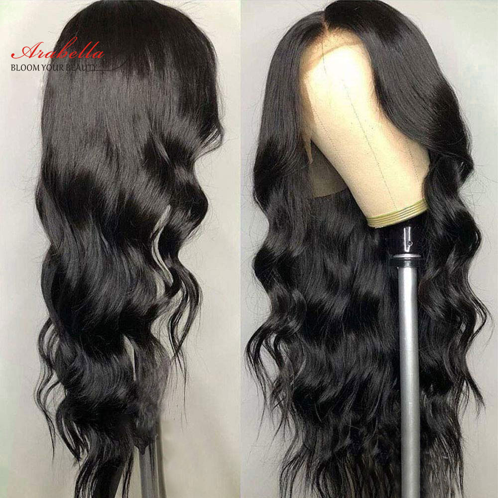 Lace Front Human Hair Wigs With Baby Hair Brazilian Body Wave Arabella Natural Remy Human Hair