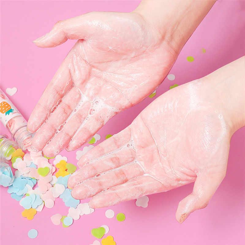 Jabones portátiles platos de baño viajes perfumados pequeña caja de jabón de papel platos de jabón 20 piezas lavar a mano perfumado rebanadas hojas de espuma