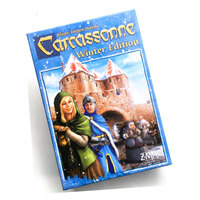 Carcassonne: Winter Edition English Board Game Extensions 2 5 Players Cards for Party Family Children's Educational Toys