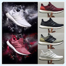 2020 Newest Limitied Sale Ultra Boost 3.0 4.0 Triple Black White Men Women Running Sports