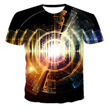 The Latest Summer Male And Female Personality Music Notes Fresh And Versatile Colorful 3D Popular Casual Short-Sleeved T-Shirt