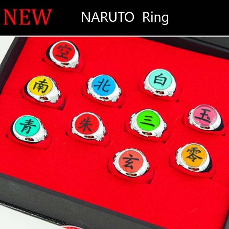 Japanese Anime NARUTO Akatsuki Members Orochimaru Cosplay Kong Ring Gift
