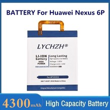 Nexo 6p bateria original para huawei hb416683ecw recarregável li-ion bateria do telefone para huawei nexo 6p h1511 h1512 4300mah