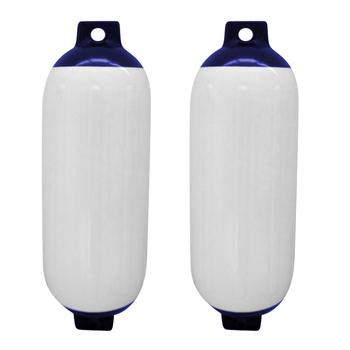 Parachoques de barco marino inflable de 2 uds., guardabarros de ancla de barco de PVC, accesorios de guardabarros de yate, protección UV, accesorios para 1,0 cm