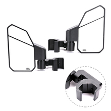 UTV KEMIMOTO Rear Side Mirror For Can Am Defender Maverick Trail Sport for Polaris Ranger XP 570 900 1000 Midsize General Brutus