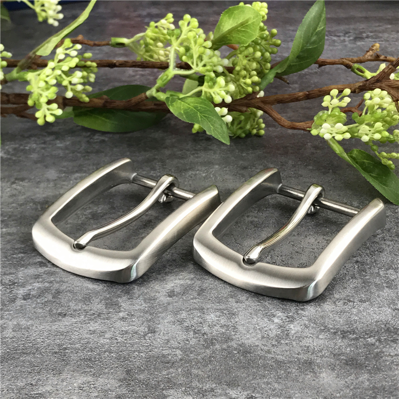 2PCS Stainless Steel Belt Buckles For Men Belt Garment Accessories Leather Craft Buckle Belt Men's Waist Buckle For Belt SK0010