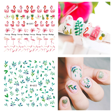 Mode Type Nails Art Manicure Water Transfer Decals Decoraties Nail Stickers Voor Nagels Tips Beauty(China)
