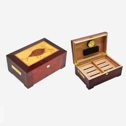 Boîte à cigares en bois de cèdre 150 CT | Boîtier à cigares en bois de cèdre espagnol, feuille de tabac, finition humidificateur à cigares, cohiba tabacaria cuba