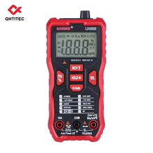 QHTITEC UA9999 Digital Multimeter TRMS 6000 Counts Temperature Volt Meter Auto Ranging Measures Voltage Tester with Backlight