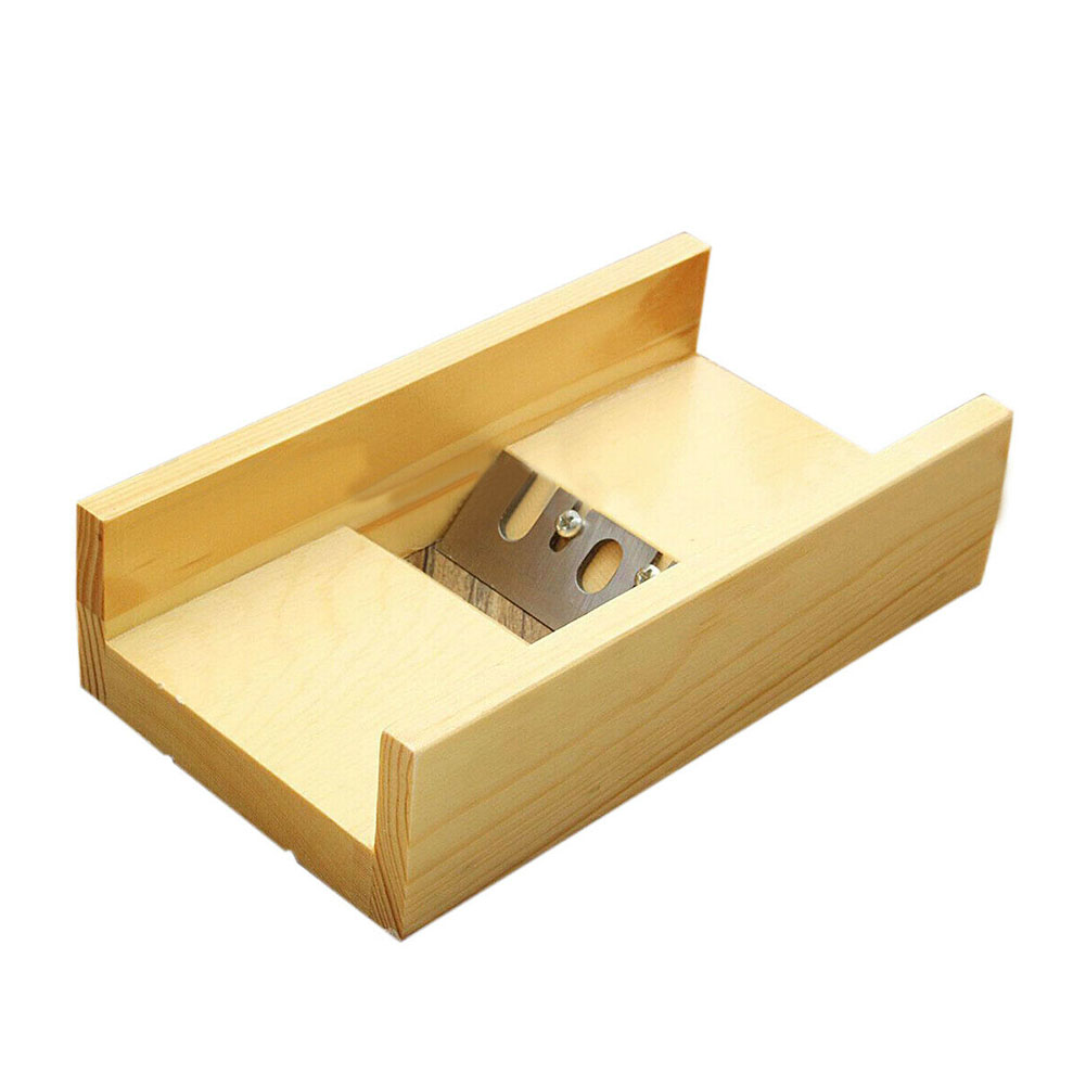 Handmade Loaf Candle Edge Trimming Sharp Blade Adjustable Craft Wooden Planer Soap Beveler Making Tool Mold Cutter DIY Box
