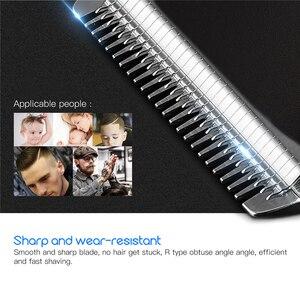 Image 3 - Машинка для стрижки волос электрическая с низким уровнем шума, 220 В