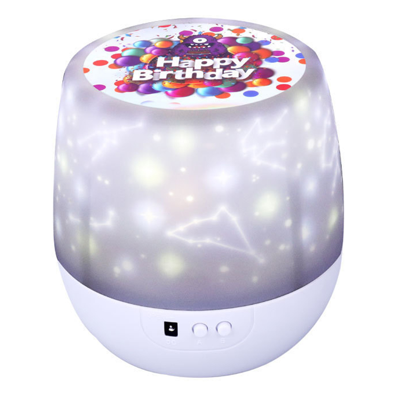 LED Starry Sky Dream Projector Night Light  Child Birthday Gift For Home Bedroom Decoration Lamp _WK