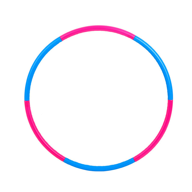 90CM/100CM Detachable Massage Circle Soft Hula Ring Fitness Loops Weight Loss Fitness Abdomen Exercise Hoops Child/Adults Circle
