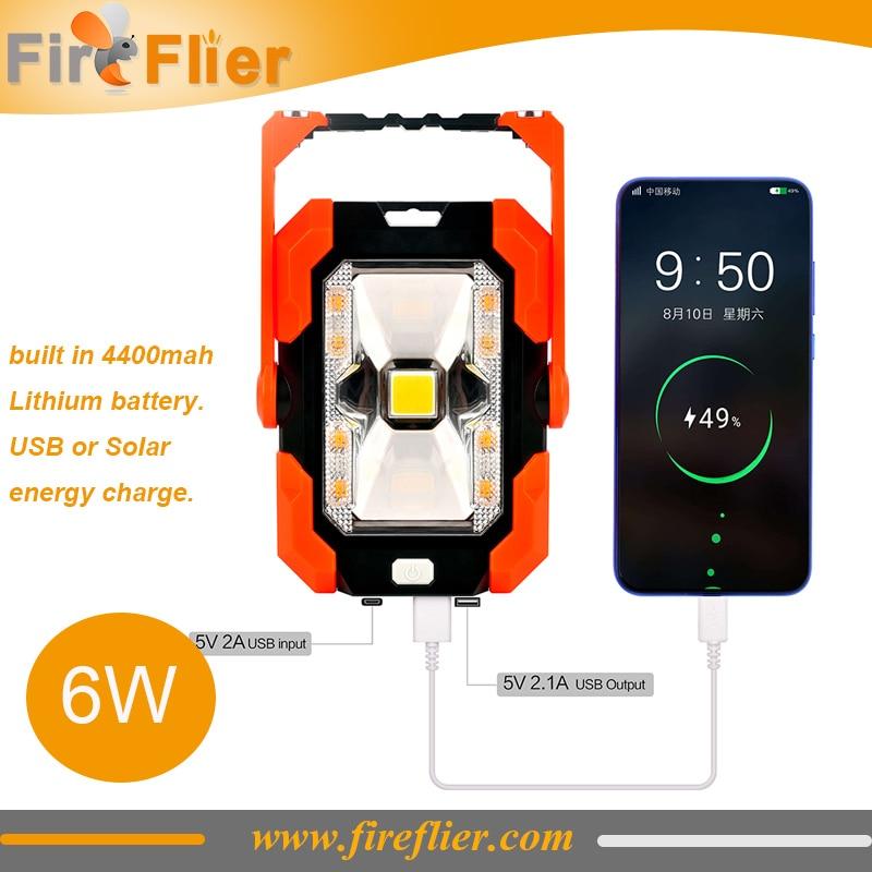 40pcs Easy Carrying Led Security Lamp Solar Spot Light Magnet Fixation Car Emergency Led Light Exterior Travel Red 3000K 6000K