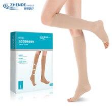 Варикозные носки, медицинские, для мужчин, Т-образные, для мужчин и женщин, эластичные носки, Защита ног, вторичные, высокое давление, ZD
