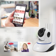 720P Wireless Camera Dome Indoor Two Way 360 Degrees Security WiFi Webcam Camera 090F