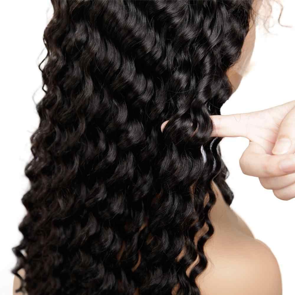 13x4 remy włosy afro perwersyjne kręcone koronki przodu peruka pre oskubane z bang krótki bob peruki z ludzkich włosów dla czarn