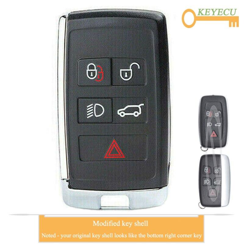 Car Key Fob Keyless Smart Remote For 2014 2015 2016 2017 Jaguar F-Type F Type