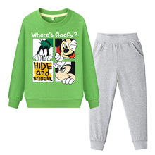 Kids Clothes Set Boys Girls Sport Suit Tracksuit Cartoon Mickey Autumn Costume Children Clothing Baby Sweatshirt + Pants 2PCS