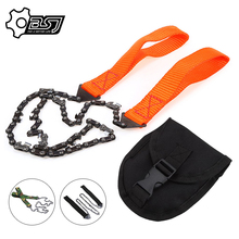Chain-Saw Cutting-Machine Garden-Tools Survival Handheld Portable Camping with Bag Emergency