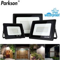 Luz de inundación led AC 220V 240V impermeable IP66 al aire libre de luz led 30W 50W 100W 150W 200W LED proyector lámpara de calle para proyector